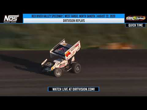 DIRTVISION REPLAYS | Red River Valley Speedway August 22, 2020