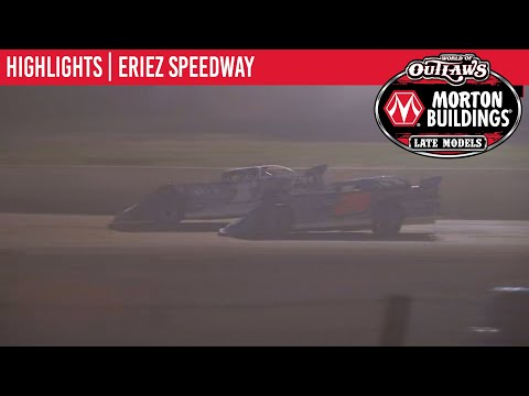 World of Outlaws Morton Buildings Late Models Eriez Speedway August 22nd, 2020 | HIGHLIGHTS