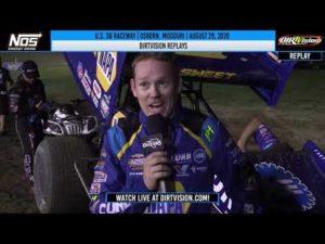 DIRTVISION REPLAYS | U.S. 36 Raceway August 29th, 2020