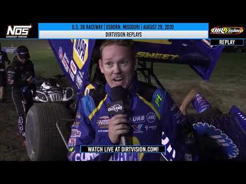 DIRTVISION REPLAYS | U.S. 36 Raceway August 29th, 2020