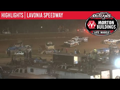 World of Outlaws Morton Buildings Late Models Lavonia Speedway September 4, 2020 | HIGHLIGHTS