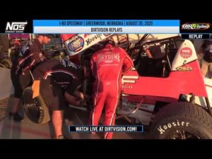 DIRTVISION REPLAYS   I-80 Speedway August 30th, 2020