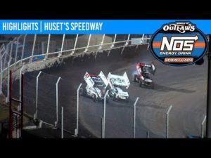World of Outlaws NOS Energy Drink Sprint Cars Huset's Speedway September 5, 2020 | HIGHLIGHTS