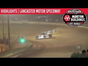 World of Outlaws Morton Buildings Late Models Lancaster Speedway September 5, 2020   HIGHLIGHTS