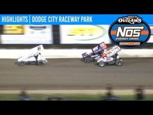 World of Outlaws NOS Energy Drink Sprint Cars Dodge City Raceway September 12, 2020   HIGHLIGHTS