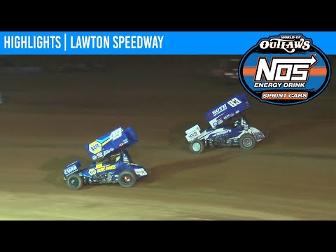 World of Outlaws NOS Energy Drink Sprint Cars Lawton Speedway September 18, 2020 | HIGHLIGHTS
