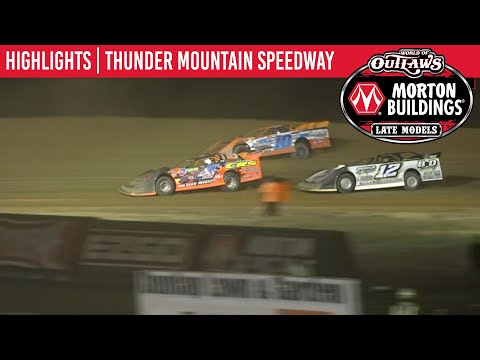 World of Outlaws Morton Buildings Late Models Thunder Mtn. Speedway September 25, 2020 | HIGHLIGHTS