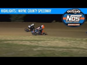 World of Outlaws NOS Energy Drink Sprint Cars Wayne County Speedway September 25, 2020   HIGHLIGHTS