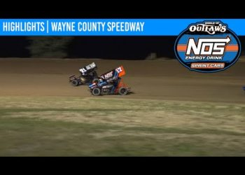 World of Outlaws NOS Energy Drink Sprint Cars Wayne County Speedway September 25, 2020 | HIGHLIGHTS