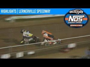 World of Outlaws NOS Energy Drink Sprint Cars Lernerville Speedway September 26, 2020 | HIGHLIGHTS