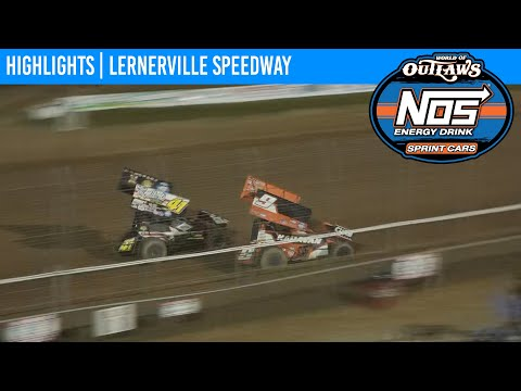 World of Outlaws NOS Energy Drink Sprint Cars Lernerville Speedway September 26, 2020 | HIGHLIGHTS