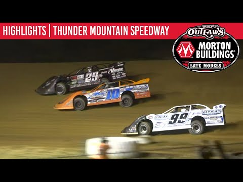 World of Outlaws Morton Buildings Late Models Thunder Mtn. Speedway September 26, 2020 | HIGHLIGHTS