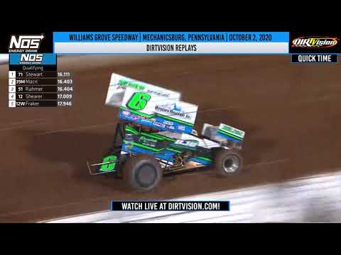 DIRTVISION REPLAYS | Williams Grove Speedway October 2, 2020