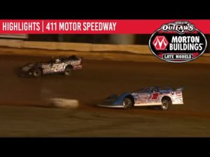 World of Outlaws Morton Buildings Late Models 411 Motor Speedway October 3, 2020   HIGHLIGHTS