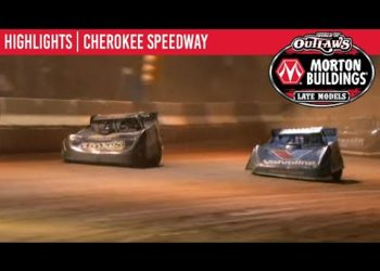 World of Outlaws Morton Buildings Late Models Cherokee Speedway October 2, 2020 | HIGHLIGHTS