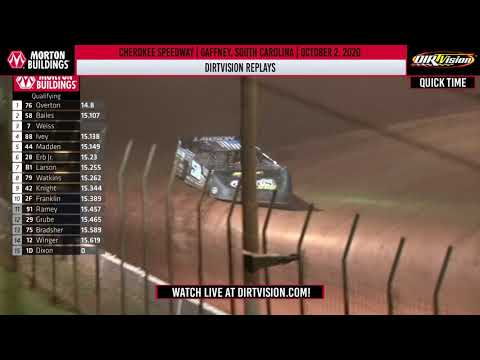 DIRTVISION REPLAYS | Cherokee Speedway October 2, 2020