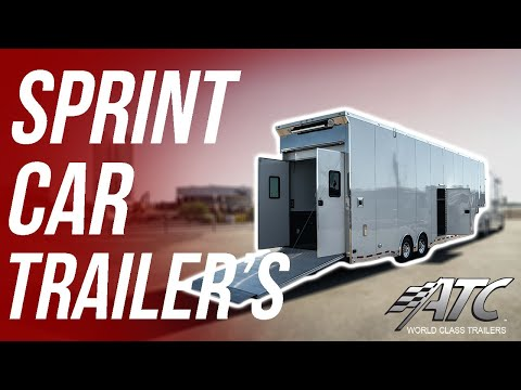 INSIDE THE BEST SPRINT CAR TRAILER YOU CAN BUY!
