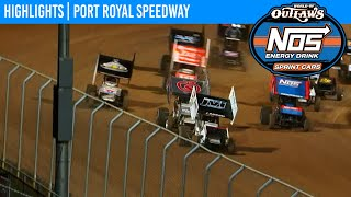 World of Outlaws NOS Energy Drink Sprint Cars Port Royal Speedway October 9, 2020 | HIGHLIGHTS