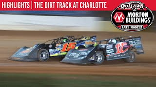 World of Outlaws Morton Buildings Late Models Dirt Track at Charlotte November 4, 2020 | HIGHLIGHTS