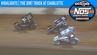 World of Outlaws NOS Energy Drink Sprint Cars Dirt Track at Charlotte November 6, 2020 | HIGHLIGHTS