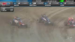 AMSOIL USAC National Sprint Car Plymouth Highlights 6/26/20