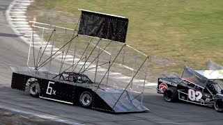 V8 Run What You Brung Racing at Hudson Speedway