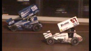 All Star Circuit of Champions 410 Sprint Car Feature   Ohio Speedweek   Sharon Speedway   7/12/2020