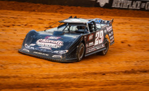Darrell Lanigan races around Bristol