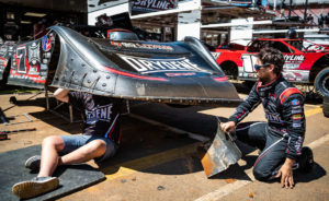 Weiss makes changes to the car