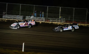 Madden and Gustin race for the lead