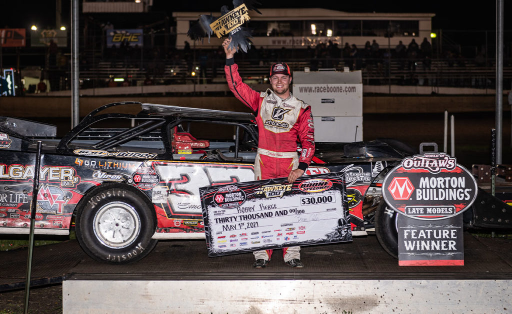 Bobby Pierce wins at Boone