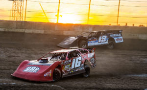 Gustin and Bruening race at Plymouth