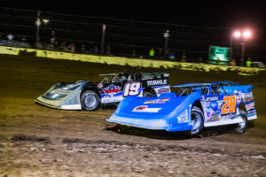 Erb Jr. and Gustin battled for the victory