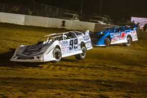 Sheppard and Briggs battle for position