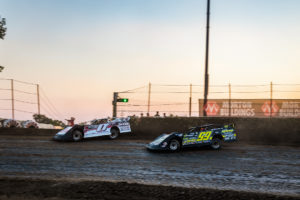Eckert and Heckenast Battle for the lead