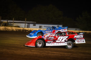 Sheppard and Dillard battle for the lead