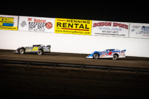 Heckenast and Sheppard battle for 2nd