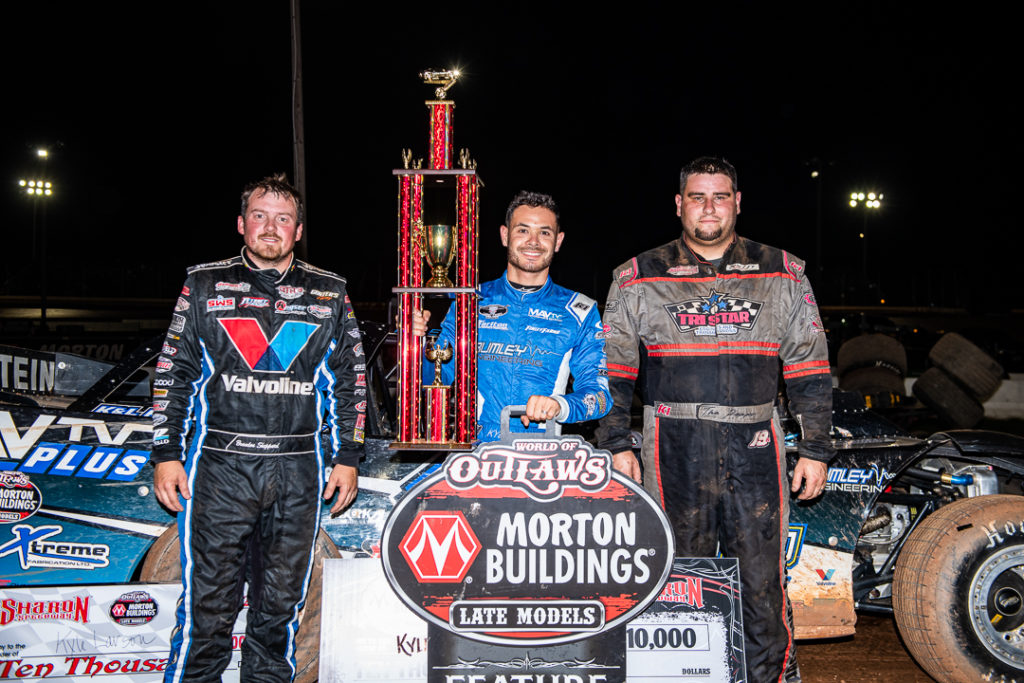 Sharon Speedway Top 3