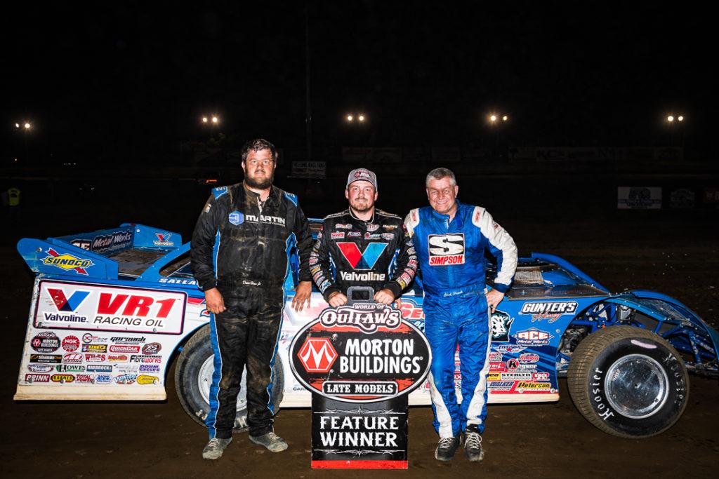 Top 3 at Eriez Speedway