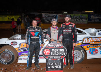 Top 3 at Lavonia Speedway